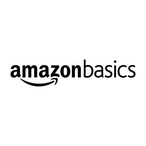 AmazonBasics - Almohadas relleno sintético funda