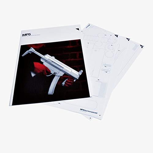MP5: Paper Gun Model Kit (Design-kopie-papier)