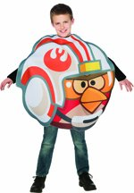 Angry Birds Star Wars Kinder Kostüm Luke Skywalker Karneval Fasching (Angry Birds Kind Kostüm)