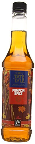 Tate and Lyle Sugars Fairtrade Pumpkin Coffee Syrup 750 ml 312YU3zAkkL