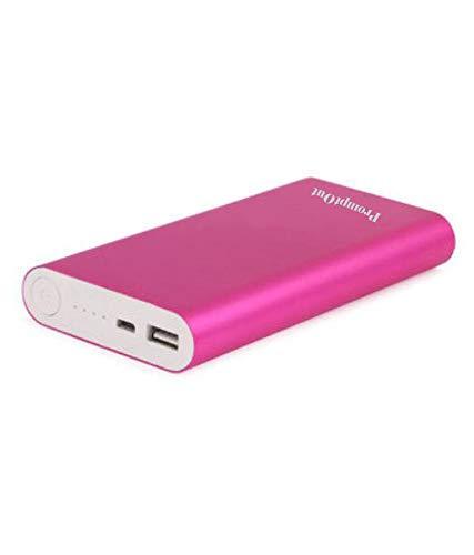 Promptout 20800mAH Universal Fast Battery Power Bank 5V/2A Input & 5V/2A Output (Pink)
