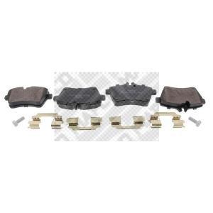 Preisvergleich Produktbild MAPCO 6918 Bremsbeläge, 4 Stück