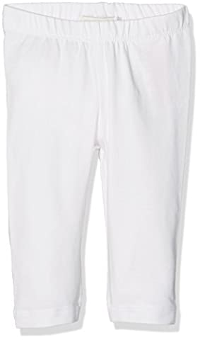 NAME IT Mädchen Nitvivian Capri Legging Nmt Noos, Weiß (Bright White), 164