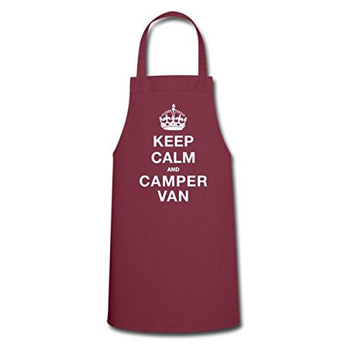 Spreadshirt Keep Calm And Camper Van Apron