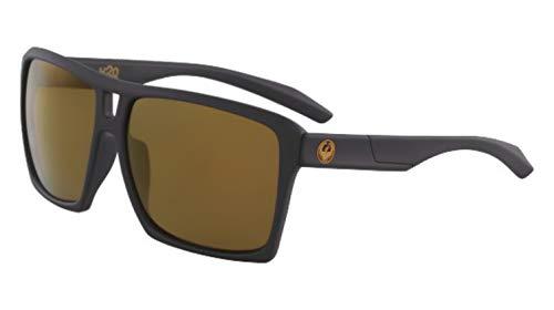 Dragon Sonnenbrille Matte Black H2O polarisierte Kupfer DIE VERSE 38673-004 - Männer Sonnenbrille Dragon H2o Für