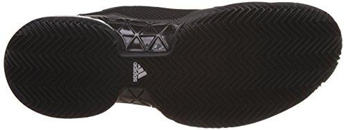 Adidas - Barricade 2017 Boost Clay Textile Herren Tennisschuh Schwarz