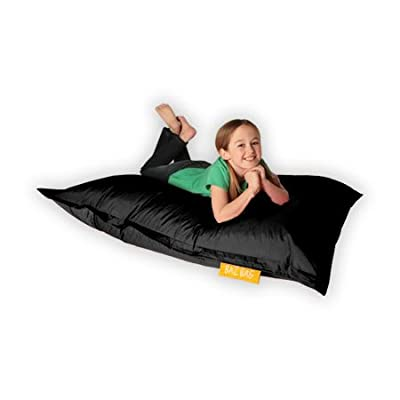 Kids BAZ BAG® Beanbag Chair BLACK - Indoor & Outdoor Kids Bean Bags by Bean Bag Bazaar®