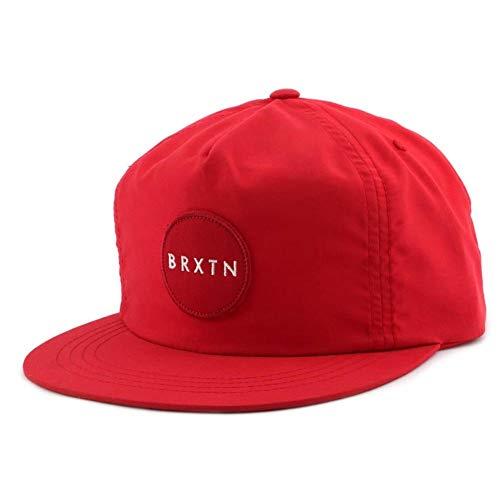 BRIXTON - Casquette Brixton Snapback MEYER Rouge - Rouge Taille unique Homme / Femme