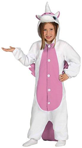 Guirca-Kostüm Schlafanzug Einhorn, Gr. 7-9Jahre - Niedliche Taucher Kostüm