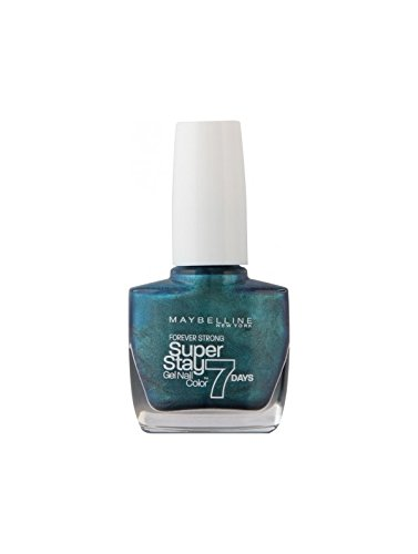 Forever Strong Pro by Maybelline Up to 7 Days Wear Varnish 10ml Blue Metal by forever strong pro