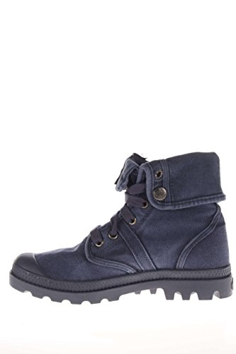 PALLADIUM scarpe donna sneakers alte 92478-490-M PALLABROUSE BAGGY Blu