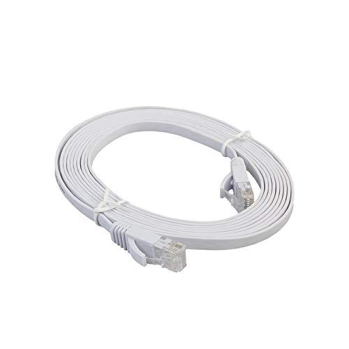 CAT6e Flat Ethernet Netzwerk LAN Kabel Hochgeschwindigkeitsübertragung Laptop Ethernet Kabel Patchkabel für das Home Office Ethernet-notebooks