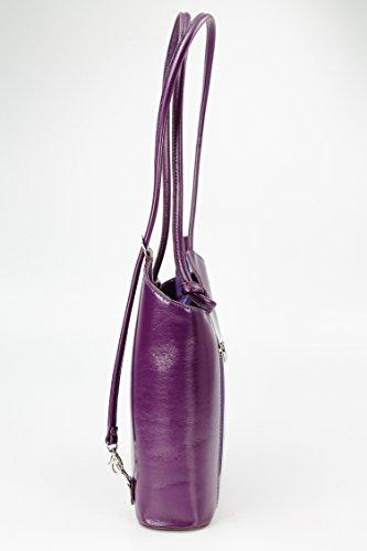 Belli, Borsa a zainetto donna Multicolore multicolore 28x28x8 cm (B x H x T) Lilla