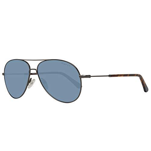 GANT Herren Ga7097 09V 56 Sonnenbrille, Gunmetal,