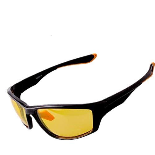 BYTNDERF Sonnenbrille polarisiert hochwertiges Material leichter, robuster, schwarzer HD-Rahmen, geeignet für Reisen und Fahren