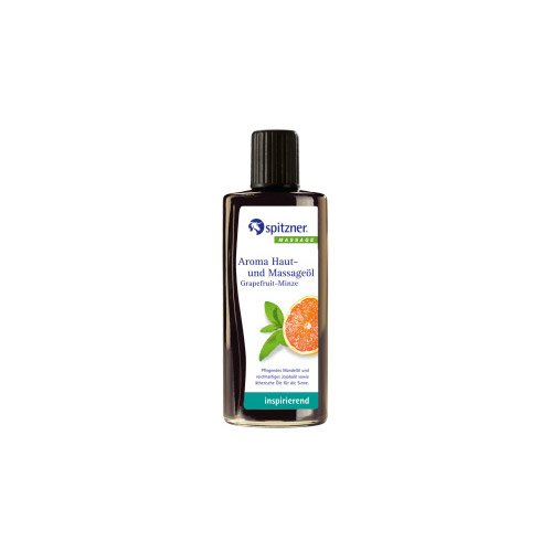 Spitzner Aroma Haut Massageöl Grapefruit Minze 190 ml -
