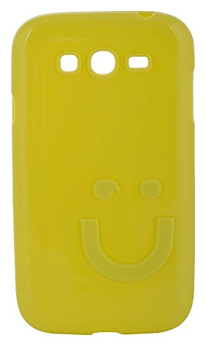 iCandy™ Imported Quality Soft TPU Smiley Back Cover For Samsung Galaxy Grand S9082 / Grand Neo S9060 / Grand Neo Plus S9060i - Parrot  available at amazon for Rs.165