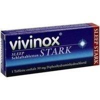 Vivinox Sleep Schlaftabletten stark 20 stk