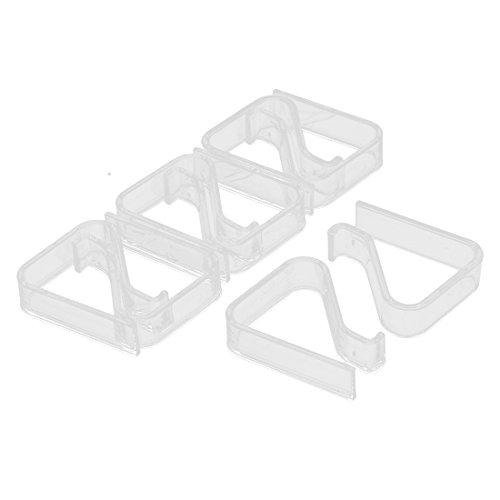 (8 Stück Tabelle Plastiktischdecke Abdeckung Läufer Clip 2-3.5cm Dicke)