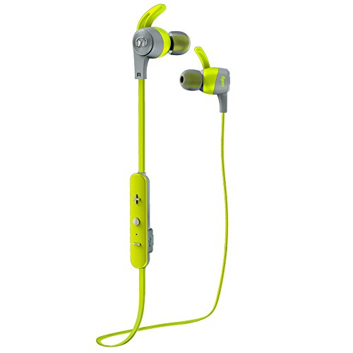 Kopfhörer Monster Wireless (Monster iSport Achieve Bluetooth Wireless In-Ear Kopfhörer grün)