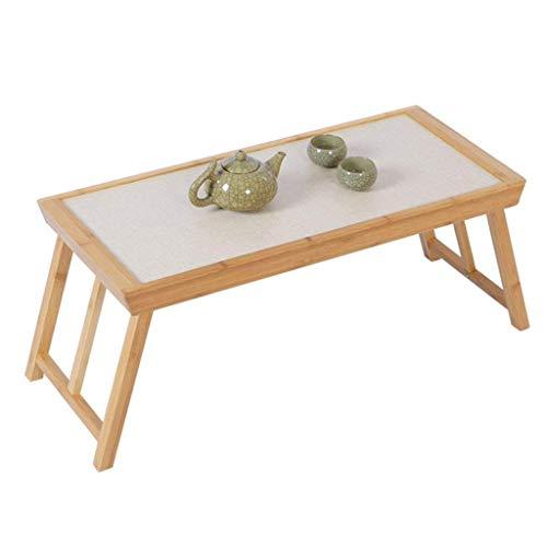 Anhaoo Tisch Klapptisch Tatami Couchtisch Japanischen Stil Einfachen Klapptisch Computertisch Kleinen Couchtisch Niedrigen Tisch (Color : Brown, Size : 65 * 28 * 28cm) - Niedriger Tisch