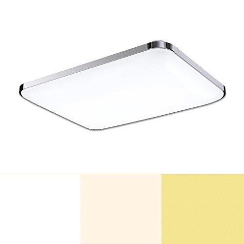 VINGO® 48W LED Moderno Lámpara panel lámpara De EnergÍA De Techo Lámpara calidad alta Ahorro De Energía LÁMpara Lámpara de techo Cocina De Cocina Iluminación para baño Dormitorio De La Lámpara Regulable