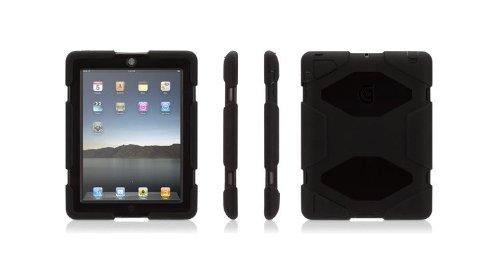 Griffin GB35108-3 Survivor Military-Duty Case for iPad 2/iPad 3/iPad with Retina Display - Black (Survivor Ipad Case 4 Griffin)