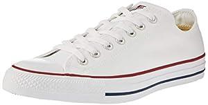 moda y complementos: Converse Chuck Taylor All Star Season Ox, Zapatillas de Tela Unisex Adulto, Blan...