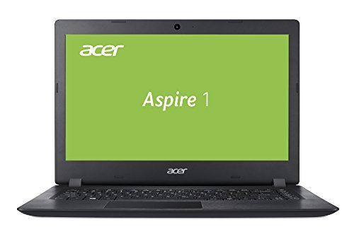 Acer Aspire 1 A114-31-P9W7 35,6 cm (14 Zoll HD matt) Notebook (Intel Pentium N4200, 4GB RAM, 64GB eMMC, Intel HD, HDMI, Win 10 S) schwarz