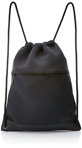 adidas FAV Gym Bag, Mochila para Mujer, Gris (Carbon/Negro), 24x15x45 cm (W x H x L)