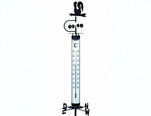Gartenthermometer mit Windfahne