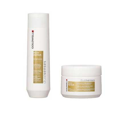 GOLDWELL - Sleeve Duo - Rich Repair Shampoo + Treatment GOLDWELL - Sleeve Duo - Rich Repair Shampoo + Treatment -