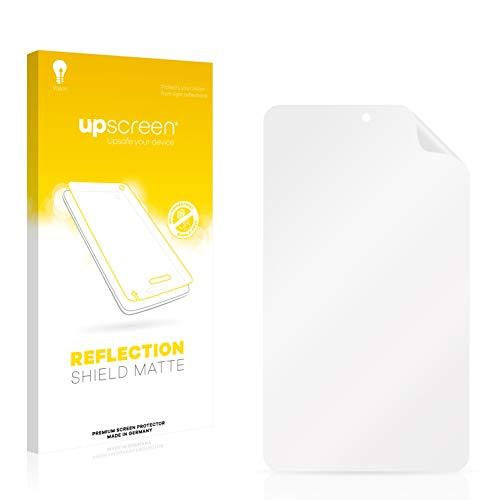 upscreen Entspiegelungs-Schutzfolie kompatibel mit irulu eXpro X1S (8.1) Plastic Rear - Anti-Reflex Bildschirmschutz-Folie Matt