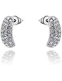 Silver Shoppee Jhumki Earrings for Women (Silver) (SSER1289) Price in India