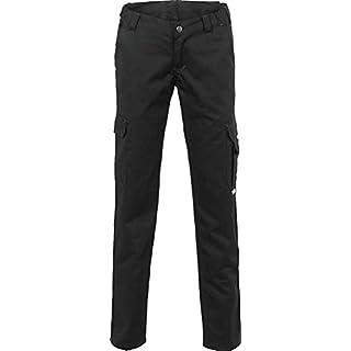 Planam Damen Arbeitshose Easy Outdoor Bundhose (38, schwarz)