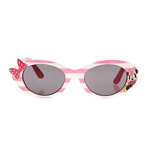 Minnie -  occhiali da sole - ragazza bianco/rosa taglia unica