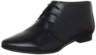 Evita Shoes Schnürer 3474XX3110, Damen Schnürhalbschuhe, Schwarz (schwarz), EU 38