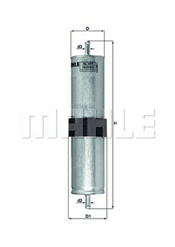 Preisvergleich Produktbild Kraftstofffilter - Mahle KL 477