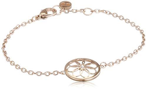 Tommy Hilfiger Casual Core Damen Armband Edelstahl Rosévergoldet 16,5 - 17,5 cm