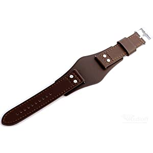 Fossil Original Lederband Ersatzband Armband CH2890 ohne Uhr m Federstegen 22mm