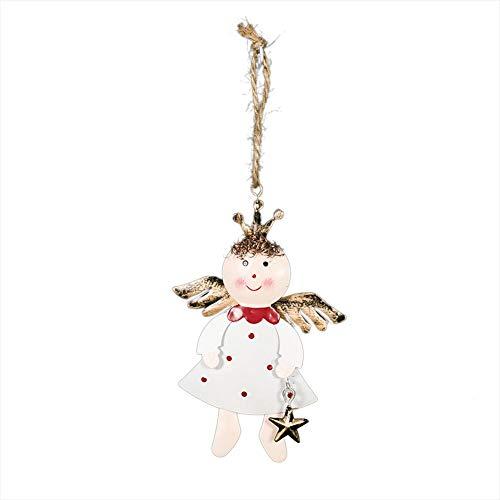 duhe189014 Weihnachtsschmuck, Weihnachtsschmuck Förderung, Weihnachten Kreative Eisernengel Puppe Anhänger, Fünfzackigen Stern Anhänger, Glocke Dekorative Weihnachtsschmuck, Etc.