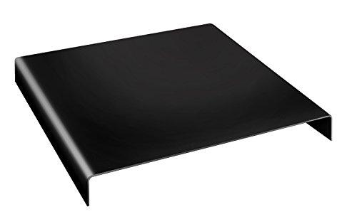 Bresser BR-AR6 Fotostudio Acrylpodest 40x40x5 (zur Produktfotografie von Schmuck, Uhren oder ähnlichem) schwarz-glänzend (Uhr Podest)