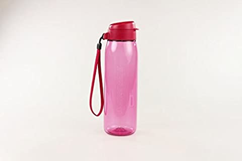 TUPPERWARE To Go Eco Fresh 750ml pink mit Band Trinkflasche Ökoflasche P 18020