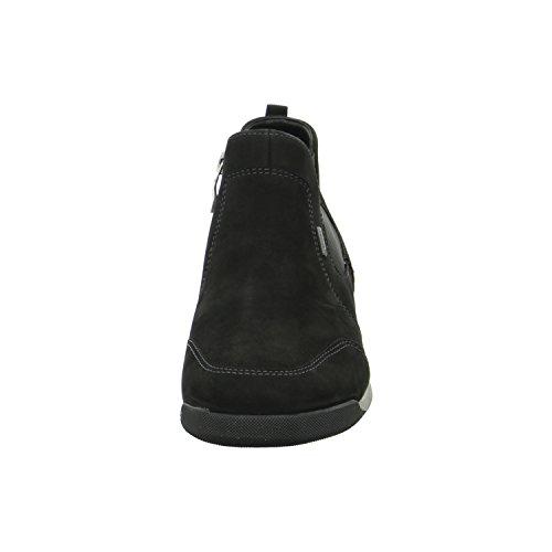 Ara bottes/bottines hydrobukleder, fermeture éclair, lederfußbett, membrane gore tex Noir - schwarz Weite G