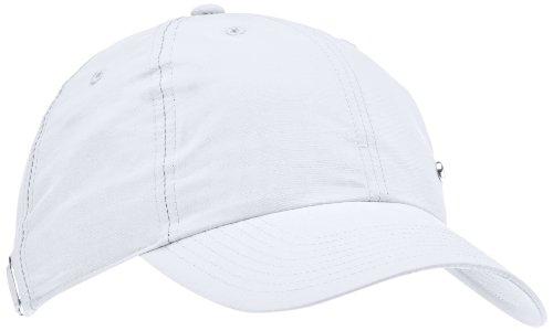 Imagen de nike metal swoosh cap   para hombre, talla única, color blanco / plateado alternativa