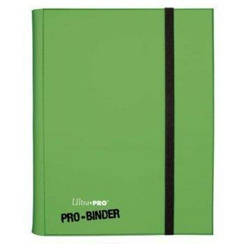 ULTRA-PRO - PRO BINDER Green - holds 360 Trading Cards - MTG YUGIOH WOW (Kleine Pokemon Binder)