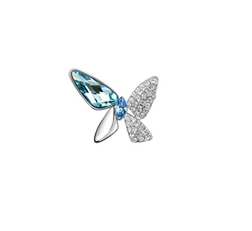 Broche-cristales-de-Swarovski-y-chapado-en-rodio-diseo-de-mariposa