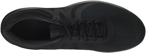Nike Revolution 4 EU, Scarpe Running Uomo Nero (Black/black 002)