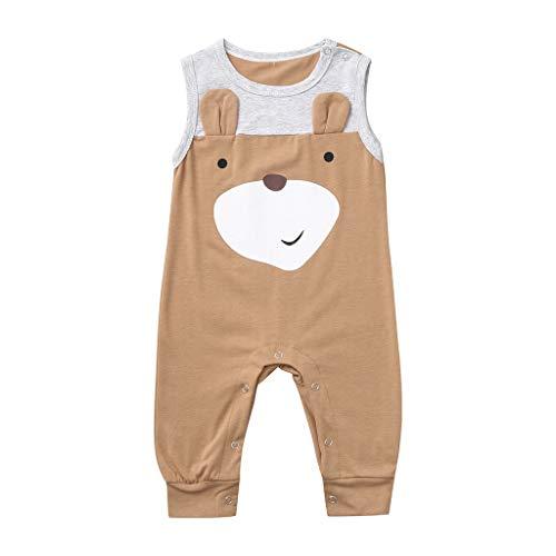 Julhold Kleinkind Kinder Baby Jungen Lässige Kleidung Niedlichen Cartoon Tier Strampler Overall Outfit Kleidung 0-24 Monate