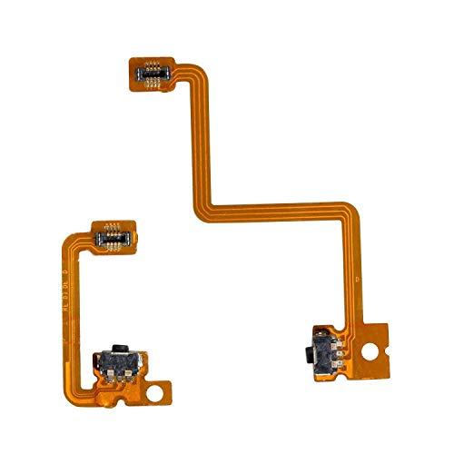 3DS Switch, ENDARK L/R Schalter Ladegerät Trigger Schulterknopf Ersatz Reparatur Interne Flex Flachbandkabel für Nintendo 3DS Controller (1 Satz)